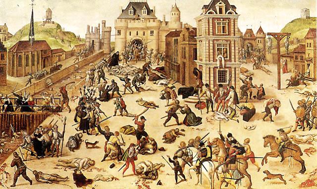 Ночь св. Варфоломея, 24 августа 1572 года.