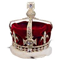 Малая королевская корона с алмазом Кох-и-нор